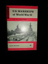U.S. Warships Of World War II ~ Part One: BATTLESHIPS + Illustrated With Photos