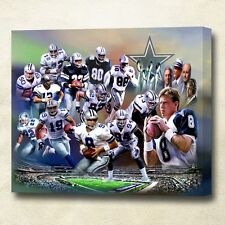 Dallas Cowboys Giclee Gallery Wrapped Canvas Art !