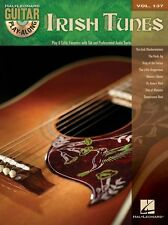 Guitar PlayAlong Irish Tunes Learn to Play CELTIC JIGS SONGS Music Book & CD