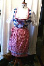 Sz 14.Germany,Bavarian Flag,Oktoberfest,Dirndl Costum,Party,Fun,Halloween 3-pc
