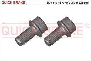 QUICK BRAKE Schraube Bremssattel 11631K für 3B5 PASSAT VW 3B2 AUDI 3B6 M10x1,25