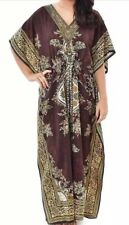 Ladies Women's Summer Floral Print Long Kaftan Dress African Style 12 to 24