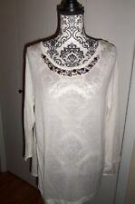 Joseph A    Sequin  Tunic/Long Top Size Large Beautiful  NWOT