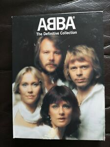 ABBA - The Definitive Collection Deluxe 2 CD - 1 DVD (2005) Gold Greatest Hits
