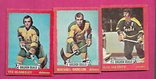 1973-74 OPC CALIFORNIA GOLDEN SEALS  CARD LOT (INV# C2891)