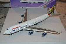 "Inflight 200 1/200 Scale British Airways 747-200 ""Blomsterang-Sweden"" G-BDXG NIB"