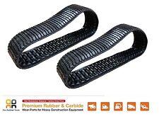 2 Pcs Rubber Tracks ASV 457x101.6x51 C, CAT 277C 287C 297C Skid Steer 3 row lugs
