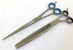 "8"" & 8.5"" Gift set pets grooming scissor chunker thinning scissor dog cat shear"