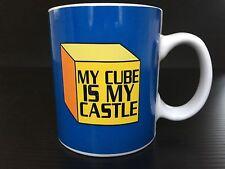 My Cube Is My Castle - Coffee Mug Tea Cup 2007 Office humor, cubicle Co-worker