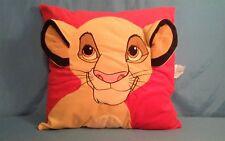 Rare Vintage Large Disney Simba The Lion King Plush Throw Pillow