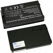 11.1V 5.2Ah Replacement Battery Compatible with Asus A32-A8