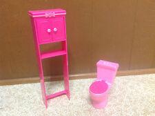 Barbie Sister Stacie Chelsea Skipper Doll Bathroom Furniture Over Toilet Cabinet