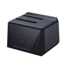 Tooq Tqds-902b Dock Station doble Bahía HDD negro (Cod. Inf-aaacet0157)
