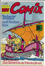 MV Comix Nr.12 vom 6.6.1970 mit Asterix, Batman & Robin - TOP Z1 Ehapa Comic