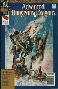 1990 DC - Advanced Dungeons & Dragons Annual 1 - Great Condition