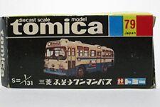 Tomica black box 79 Mitsubishi Fuso one-man bus Miniature Car Takara Tomy