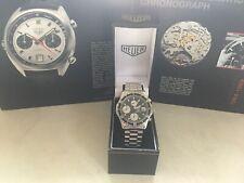 Rare Vintage 80's Heuer 2000 Quartz chronograph 273.006-1 orginal bracelet & box