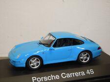 Porsche 911 993 Carrera 4S Coupe - Schuco 1:43 Box *35354