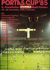 26.-28.12.1985 HT Portas-Cup Concordia Francoforte, Kickers Offenbach, HSV,...