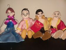 Warner Brothers Studio Store The King and I Plush Doll Set of 4