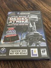 Star Wars Rebel Strike Preview Nintendo GameCube Nice Disk NG7
