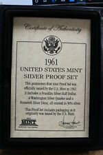1961 United States Mint Silver Proof Set
