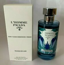 Prada L'Homme Prada Water Splash Edt 150ml 5oz For Men NIB 100% Original (T)