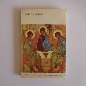 Icônes russes 1962 Victor LASAREFF art peinture religion Flammarion UNESCO N7595