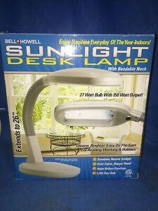 Bell and Howell Sunlight Desk Lamp - BRAND NEW!