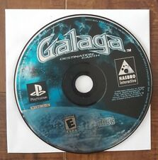 Galaga: Destination Earth (Sony PlayStation 1, 2000) DISC ONLY & PS2 COMPATIBLE