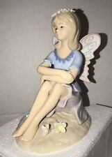 Porcelain Fairy Figurine by Classic Treasures Sweet, Beautiful