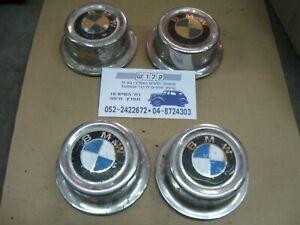 Vintage small little BMW 2002 318 320 E30 Center Caps Hubcaps 4 Pcs 73mm outside