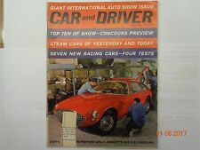 Collectible Automobile magazine, Car & Driver, May 1962