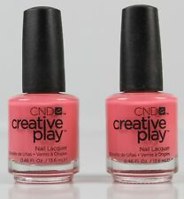 CND Creative Play Jammin Salmon #405 Nagellack Nail Polish 2 x 13,6 ml Si-405