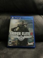 Sniper Elite 4 (PlayStation 4, 2017) PS4 - Tested Working