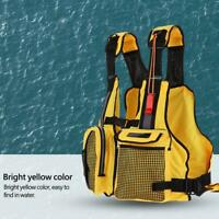 Adults Life Jacket Vest For kayak Fishing Rafting Canoe Swimming Aids Waistcoat
