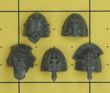 Warhammer 40K Space Marines Dark Angels Company anciens combattants épaulettes (B)