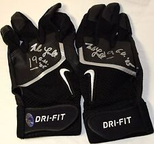 MIKE LOWELL GAME USED AUTOGRAPHED SIGNED 2005 BATTING GLOVES