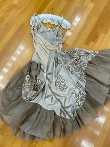 Christian Dior by John Galliano vintage dress 6 excellent 2006