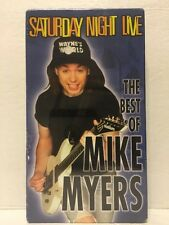 Saturday Night Live - Best of Mike Myers (VHS, 1999)          [BRAND NEW SEALED]