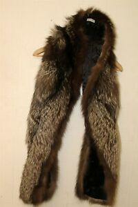 Saks Fifth Avenue Vintage RARE Womens Fox Fur Wrap Stole