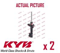 2 x NEW KYB FRONT AXLE SHOCK ABSORBERS PAIR STRUTS SHOCKERS OE QUALITY 339702