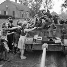 WW2 Photo WWII British 11th Armored Holland Sept. 1944   World War Two/ 1536