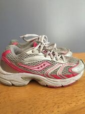 SAUCONY Cohesion 4 Grid Athletic Running Walking Girls Sneakers Shoes Sz 1 ~