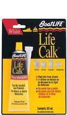 New Liquid Life-calk  Sealant boat Life 1052 3 oz. tube White