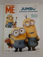 Despicable Me Minion Made Jumbo Coloring & Activity Book Minions United