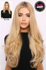 "LullaBellz Blow Dry Hair Extensions 22"" 5 Piece Synthetic Clip In"
