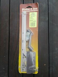 "TRUTH HARDWARE 9 1/2"" STEEL ARM WOOD CASEMENT WINDOW OPERATOR w TRACK RIGHT HAND"
