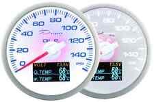 DEPO RACING Manometro 4 in 1 DEPO Racing PRESSIONE OLIO Voltmetro Temrperatura