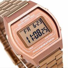 Casio B640WC-5A Unisex Rose Gold Tone Watch